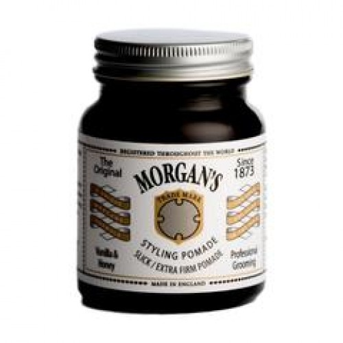 Morgan's Styling Pomade Vanilla & Honey Slick Extra Firm Hold 100ml