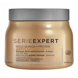L'Oreal Professionnel Absolut Repair Gold Quinoa + Protein Masque 500ml