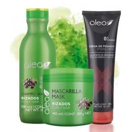 Alea Kit Curls (Shampoo 500ml, Mask 400ml, Styling Cream 300ml)