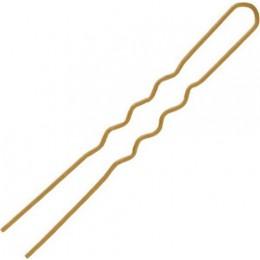 Comair Φουρκέτα Χρυσή 50 τεμάχια (75 x 1,20 mm)