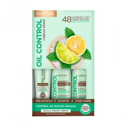 Kativa oil control 3x50ml